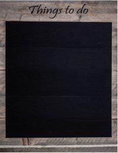 Print op wandbord van steigerhout