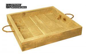 dienblad van steigerhout